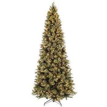 Fast Shape Sierra Cashmere Pre-Lit Christmas Tree - 9' - Fast Shape Sierra Cashmere Pre-Lit Christmas Tree - 9' Christmas