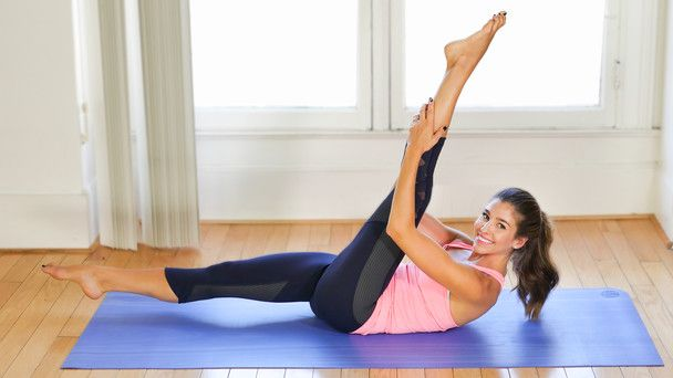 Advanced Pilates: Intense Abs & Core Burn - Fitness and Exercise Videos   Grokker #corepilates