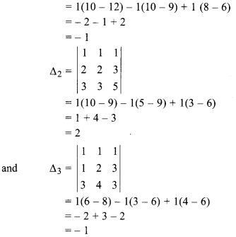Rbse Solutions For Class 12 Maths Chapter 5 Inverse Of A Matrix And Linear Equations Miscellaneous Exercise Rbseso Class 12 Maths 12th Maths Linear Equations