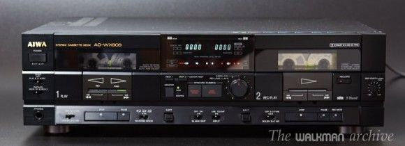 AIWA AD-WX909, the best dual deck ever made   The Walkman Archive