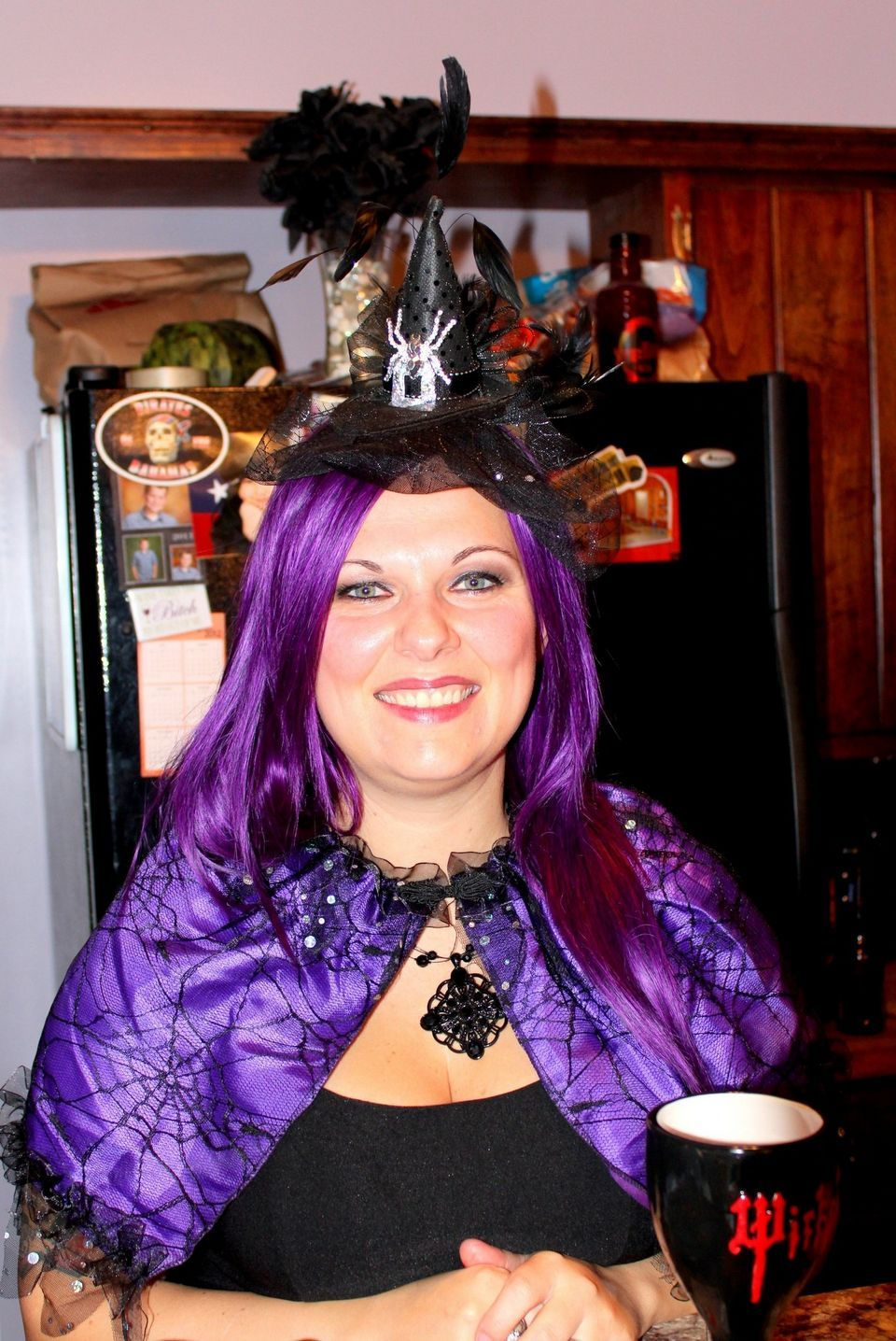 Photo Contest Wickedly Awesome Costumes Cool Costumes Purple Hair Costumes