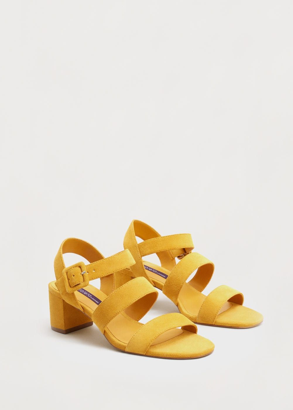 cf2fd02e4a2 Sandales à lanières cuir | MANGO Tacones De Bloque, Zapatos De Moda, Zapatos  Altos