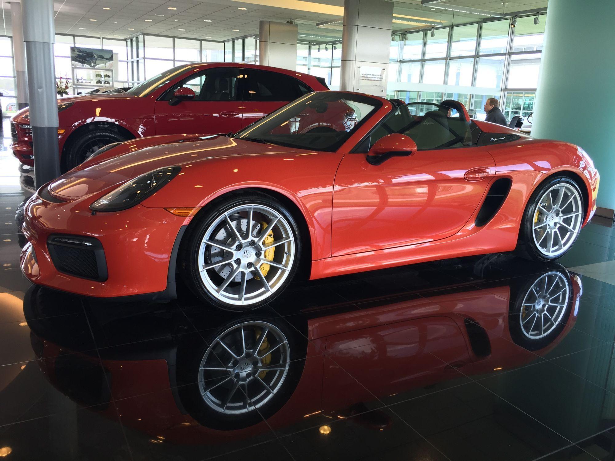 Pts Zanzibar Red Spyder Porsche Spyder Zanzibar