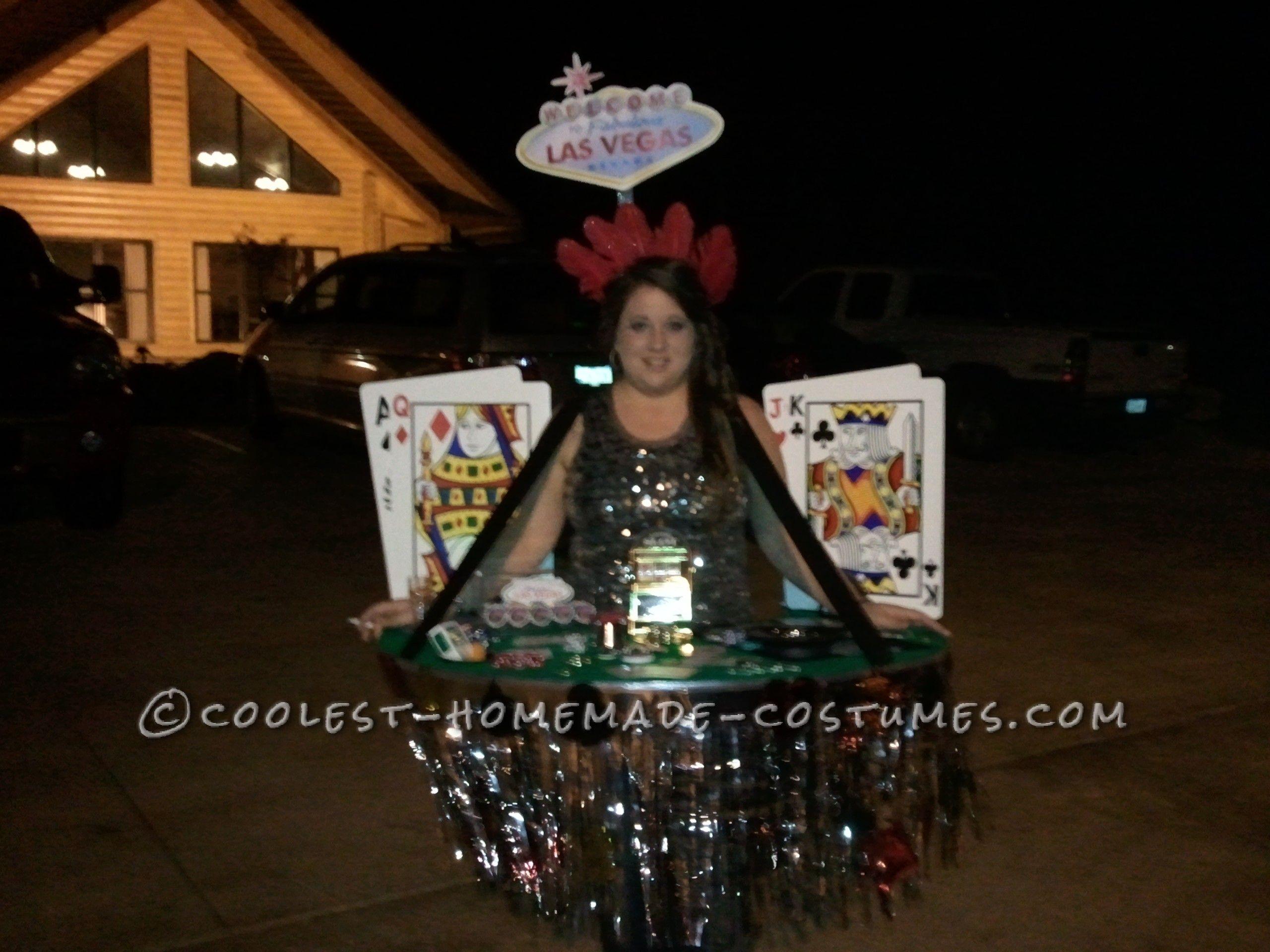 Viva Las Vegas Casino Dealer Costume | Costumes, Las vegas and Las ...