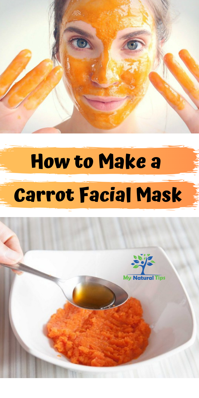 carrot mask + carrot face mask + carrot mask diy + carrot ...