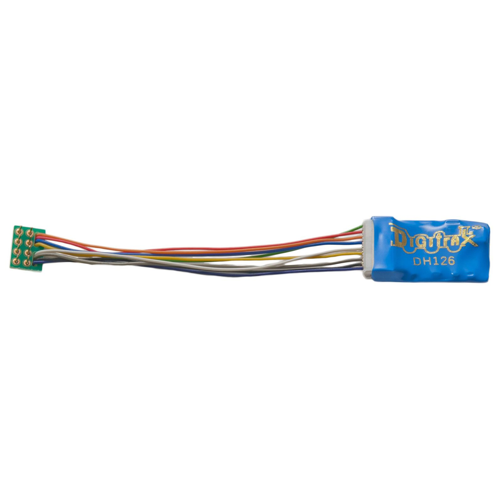 Digitrax Dh126p Ho Scale Decoder Economy Medium Plug With Long Wires Digitrax Harness Ho Model Trains Model Train Accessories Toy Train Accessories