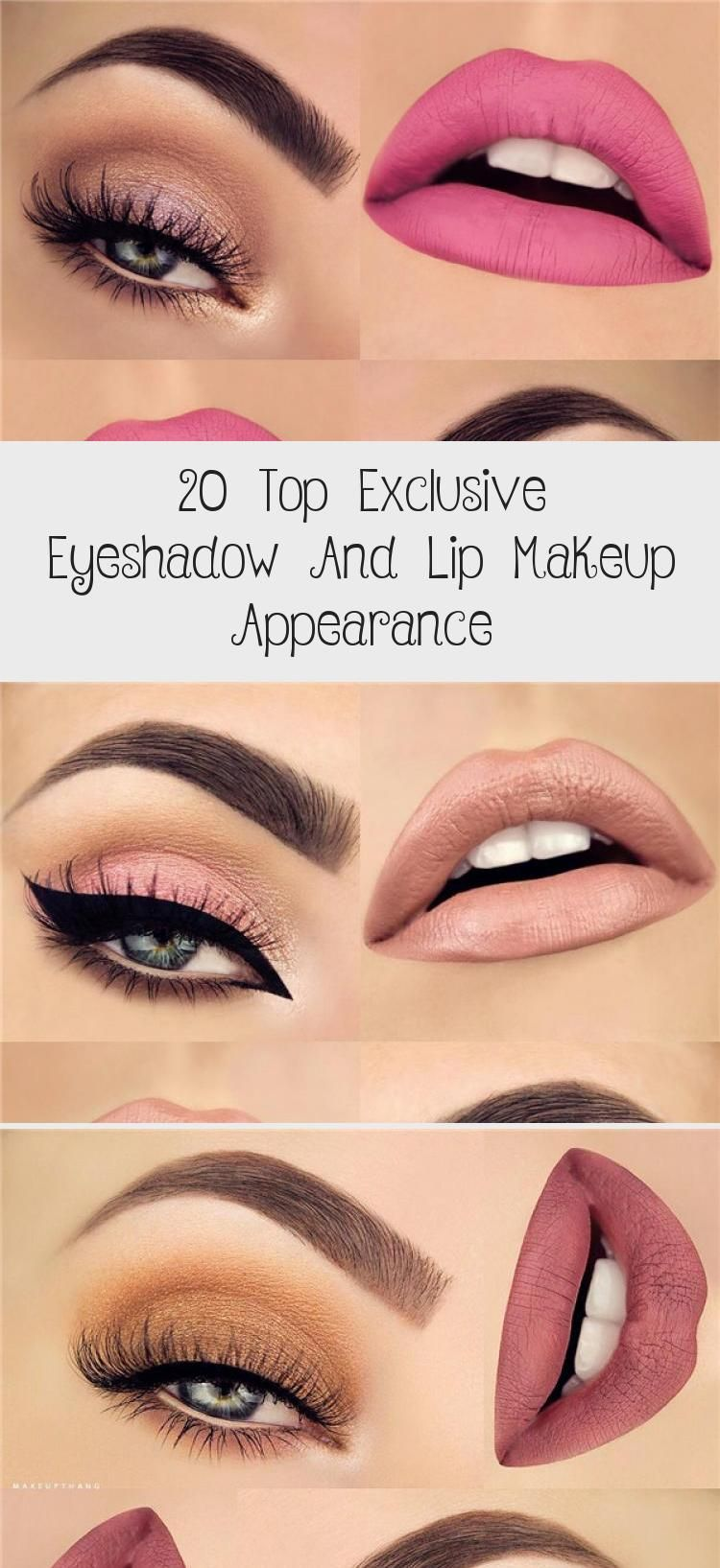 Photo of 20 Top Exclusive Eyeshadow And Lip Makeup Appearance – Beauty İdeas