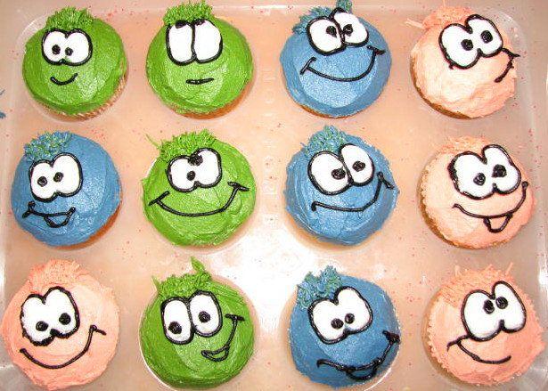 puffles cupcakes