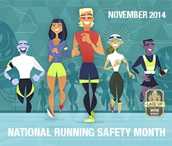 November is National Running Safety