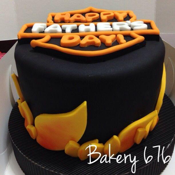 Harley davidson cake Hombres nios Men kids Pastel cupcakes