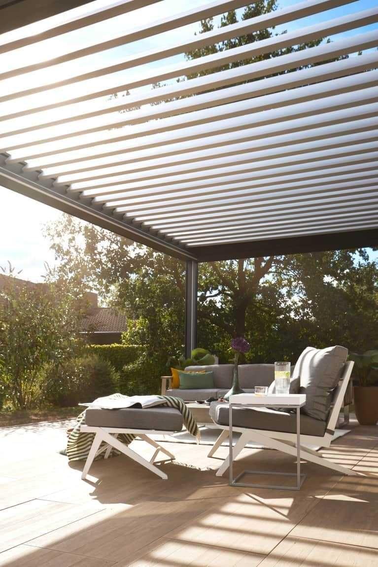 Premium Lamellendacher Fur Terrasse Und Garten Terassenideen