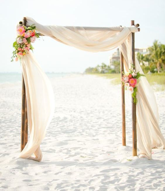 Bamboo Wedding Altar: Ideas De Altares Para Boda