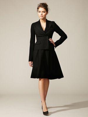 d83acd7c94cd34 Dolce & Gabbana Classic Flared Skirt Suit | Business Chic | Skirt ...