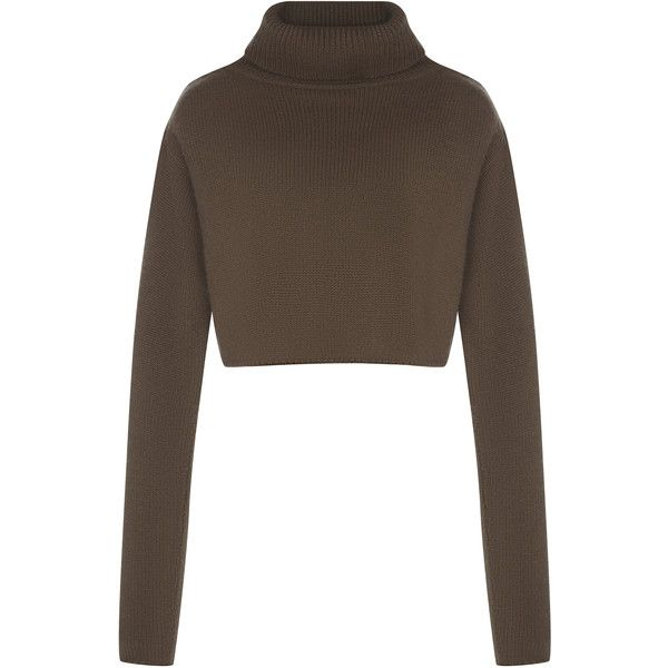 High Neck Cashmere Luxe Knit