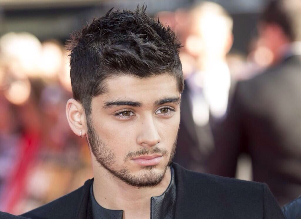 Zayn Malik from One Direction or A Vogue Model. The world may never know.