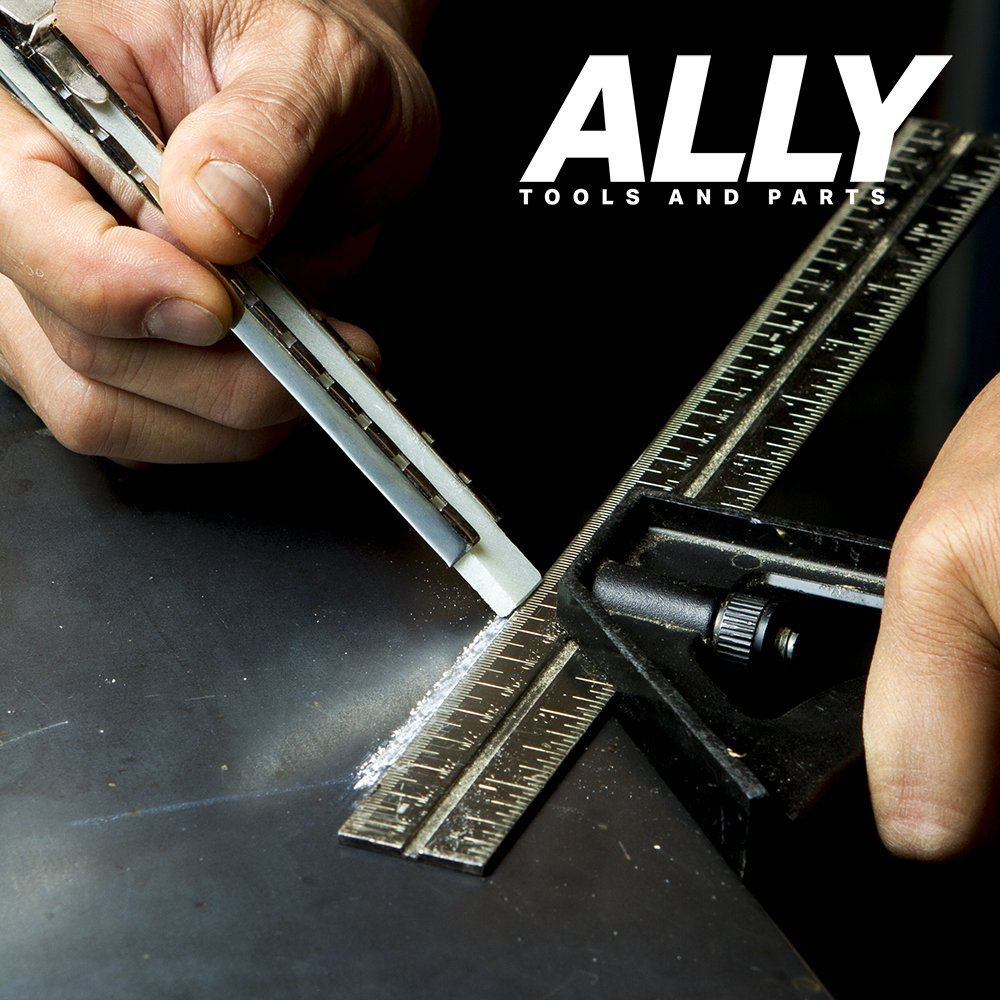 Ally Tools Flat Soapstone Holder With 7 Flat Professional Quality Soapstone Pens For Welding And Welders Perfect For Making Remo Soapstone Spot Welding Welding