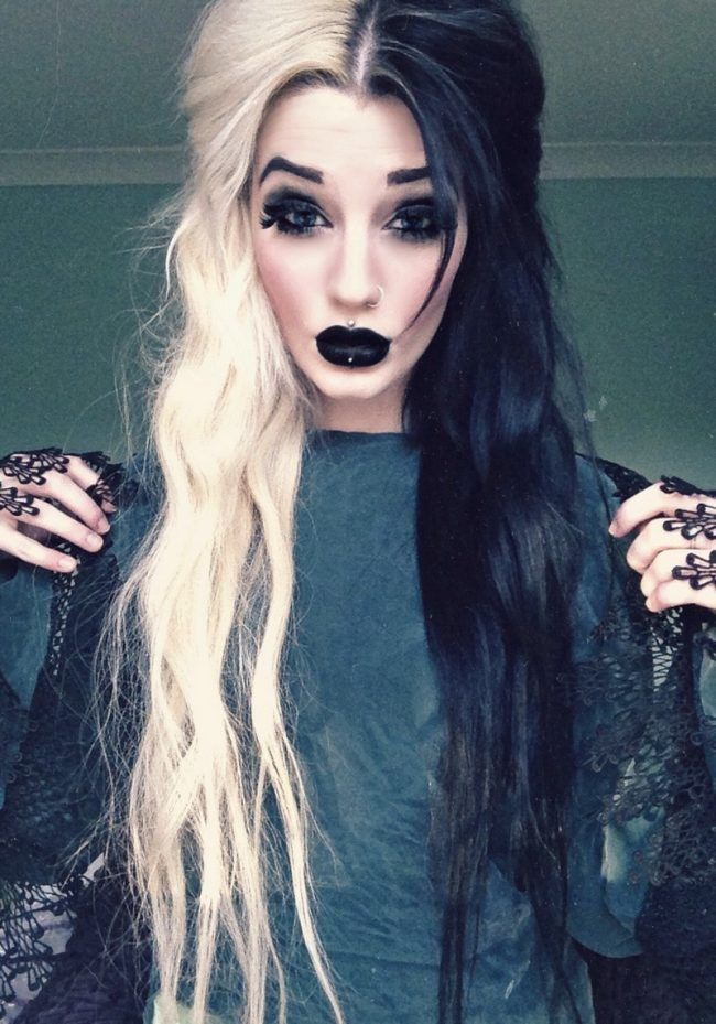 Halloween Hair Color Sprays Tips and Halloween Hairstyles