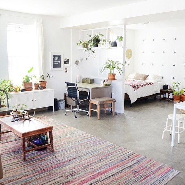 Studio Apartments For Rent Oakland Ca: House Tour: Hannah's Creative Oakland Studio Apartment