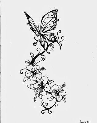 Fotos Desenhos E Significados De Tatuagem De Borboleta