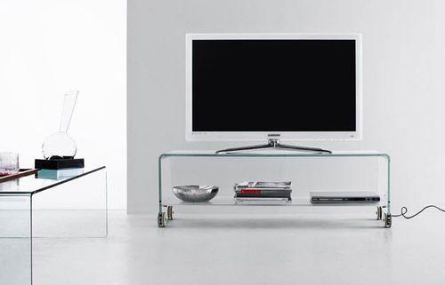 Mobile Tv Moderno Led : Mobile porta tv moderno a rotelle gravity flai soluzioni per
