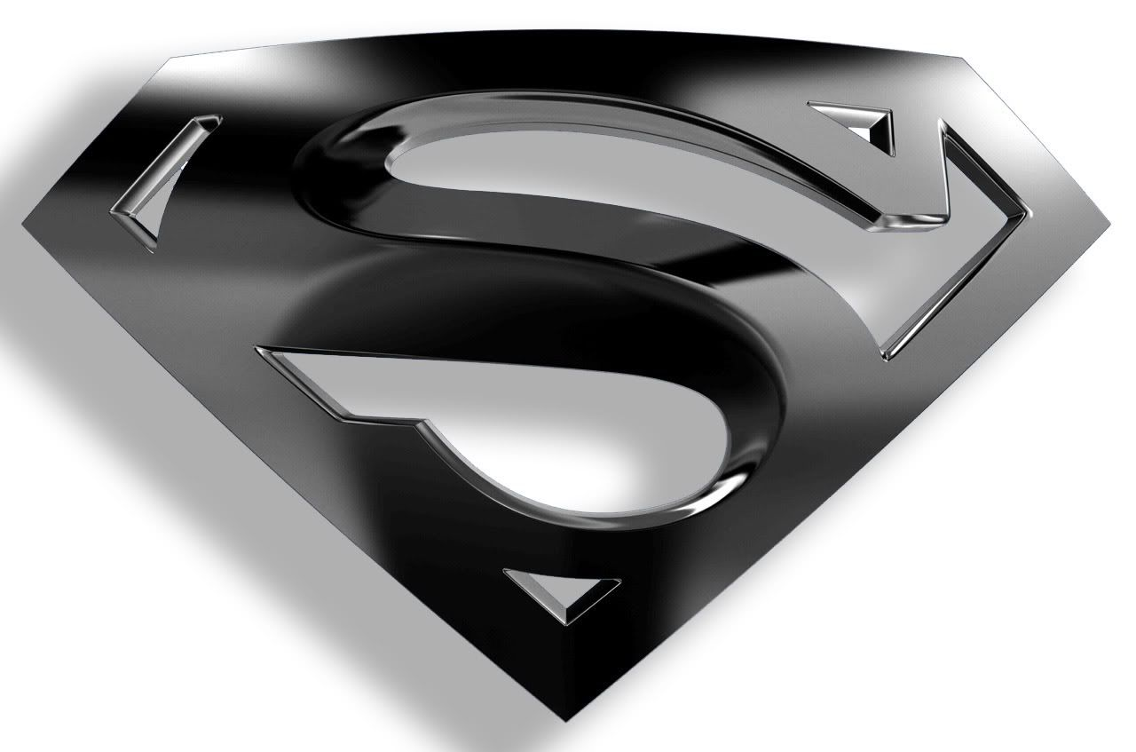 Image For Superman Logo Black And White Wallpapers HD
