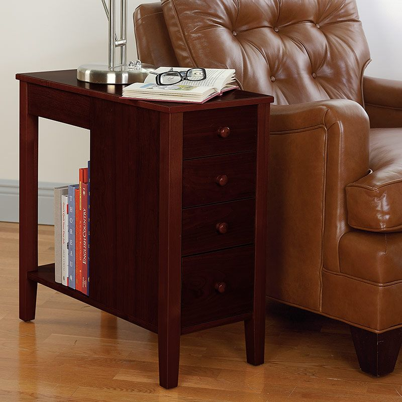 Best No Room For A Table Table™ With Drawers Natural Cherry 400 x 300