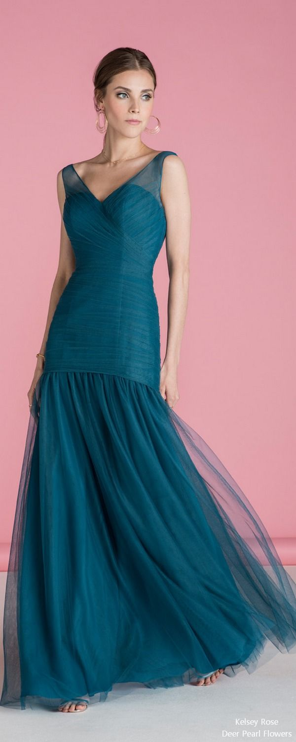 5 Bridesmaid Dress Designers We Love for 2018 | Vestidos dama ...