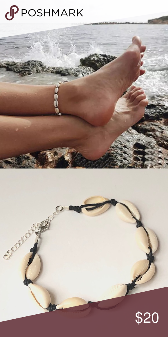 WillowswayW Boho Women Charm Shell Anklet Chain Ankle Bracelet Barefoot Jewelry Gift