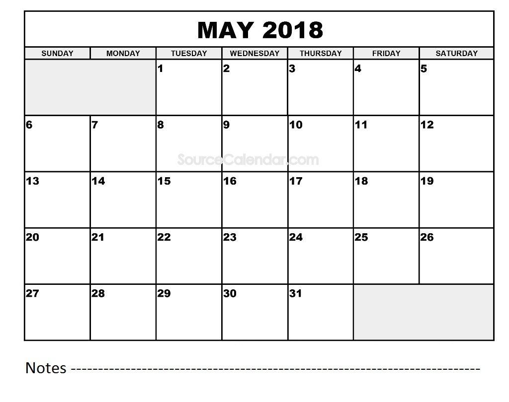 2018 word calendar with holidays