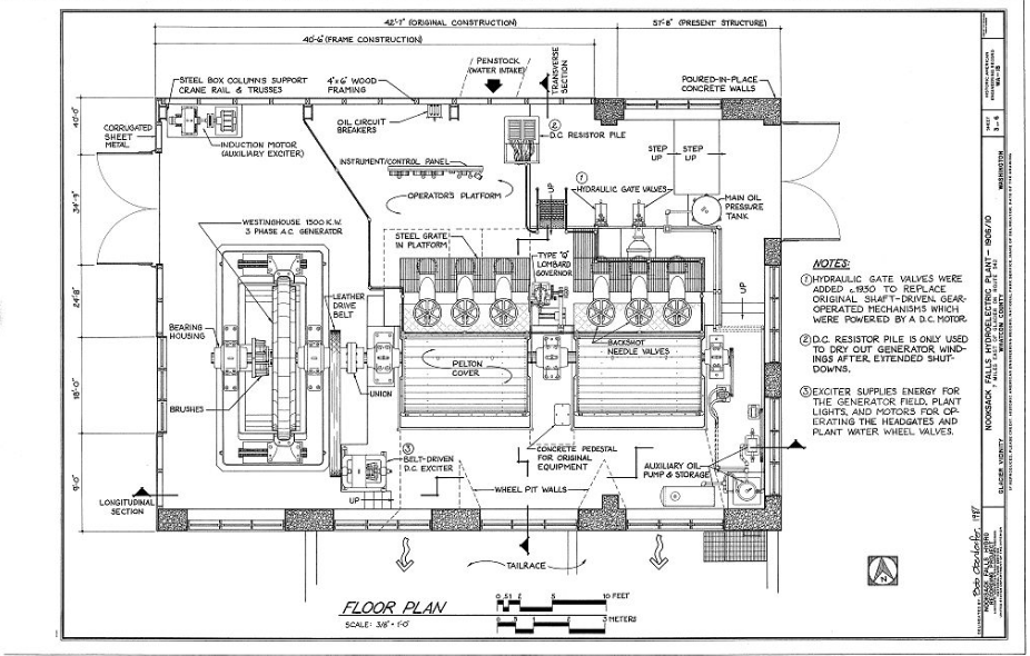 Pin By Bradford Electric S History On Power Plant Blue Print