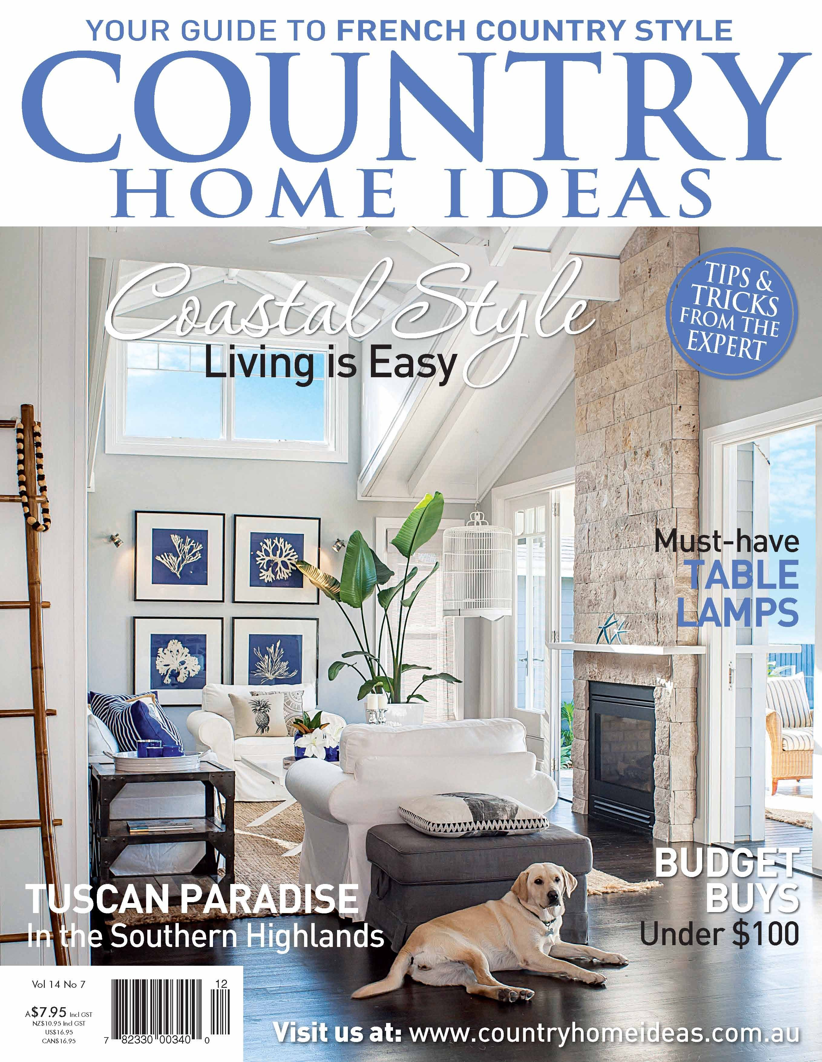 Style Living Magazine vol 14 no 5 country home ideas the country lifestyle magazine