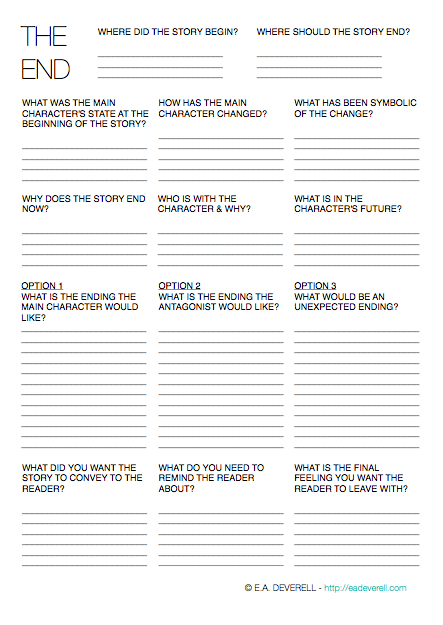Free Printables for Writing Your Novel | Tricia Goyer