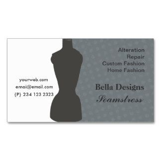chic seamstress dressmaker sewing business card sewing pinterest