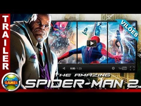The amazing Spider Man 2 game viloes trailer