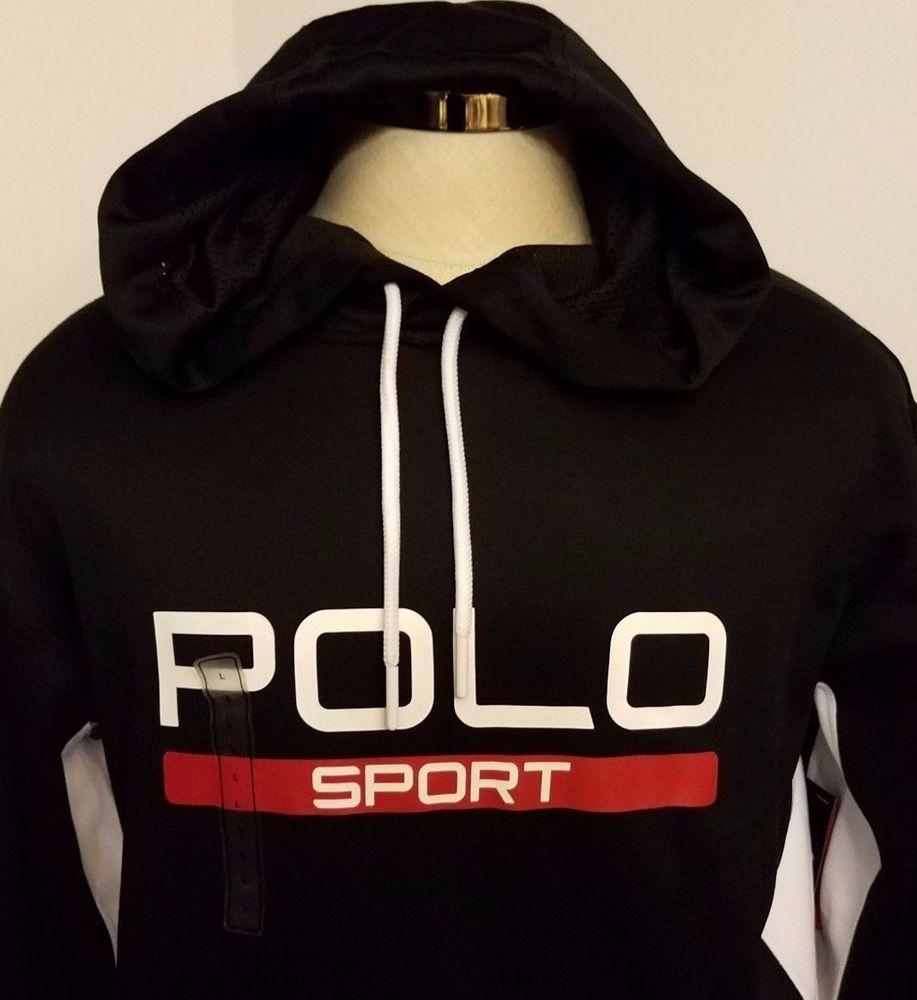NWT Polo Sport Ralph Lauren Tech Performance Hoodie Spell