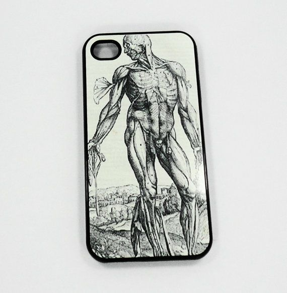 iphone 5 iphone 4 4s Human Man anatomy vintage by ACuriousCase ...