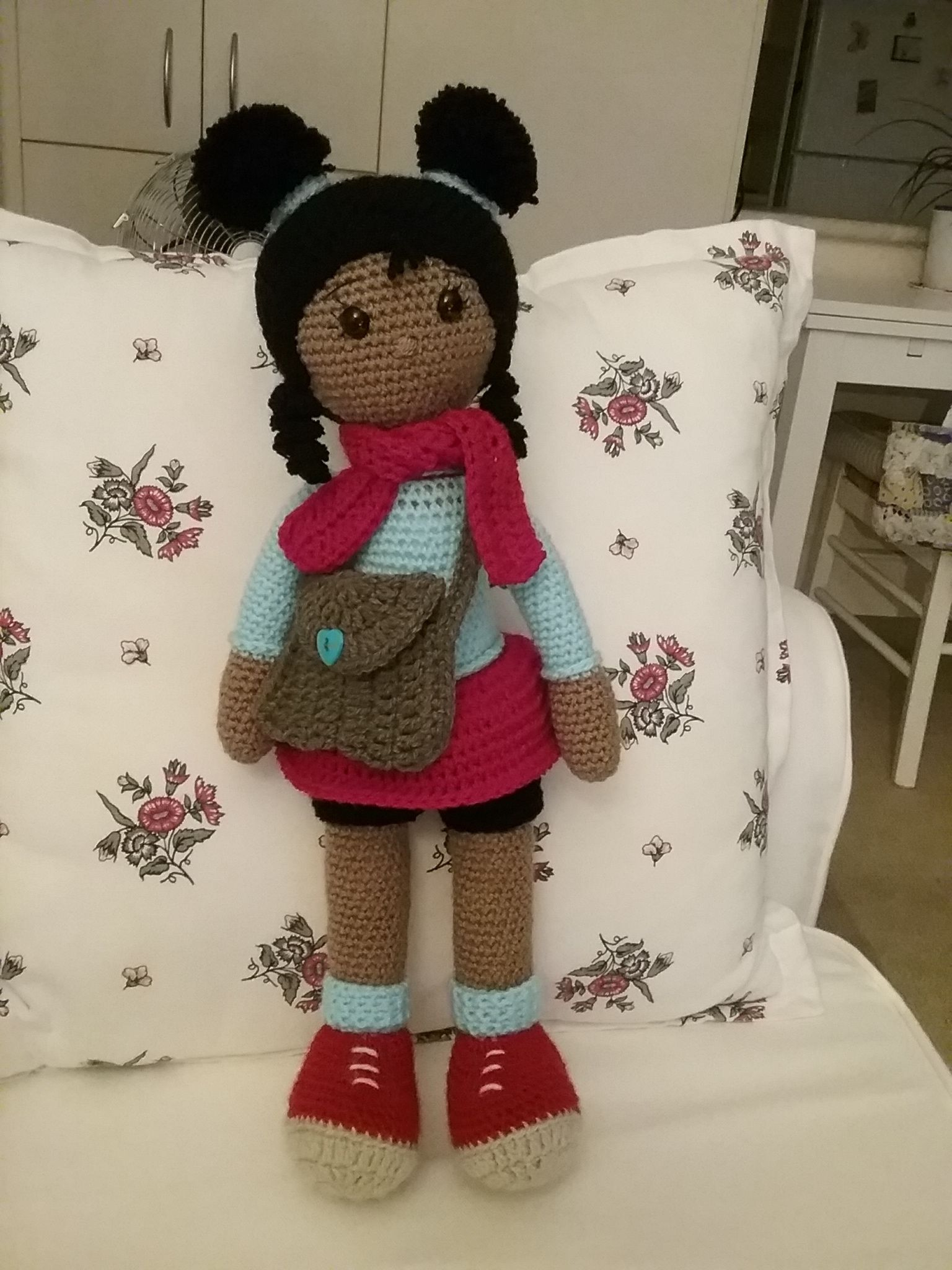 Free pattern https://amigurumi.today/amigurumi-molly-doll-crochet ...