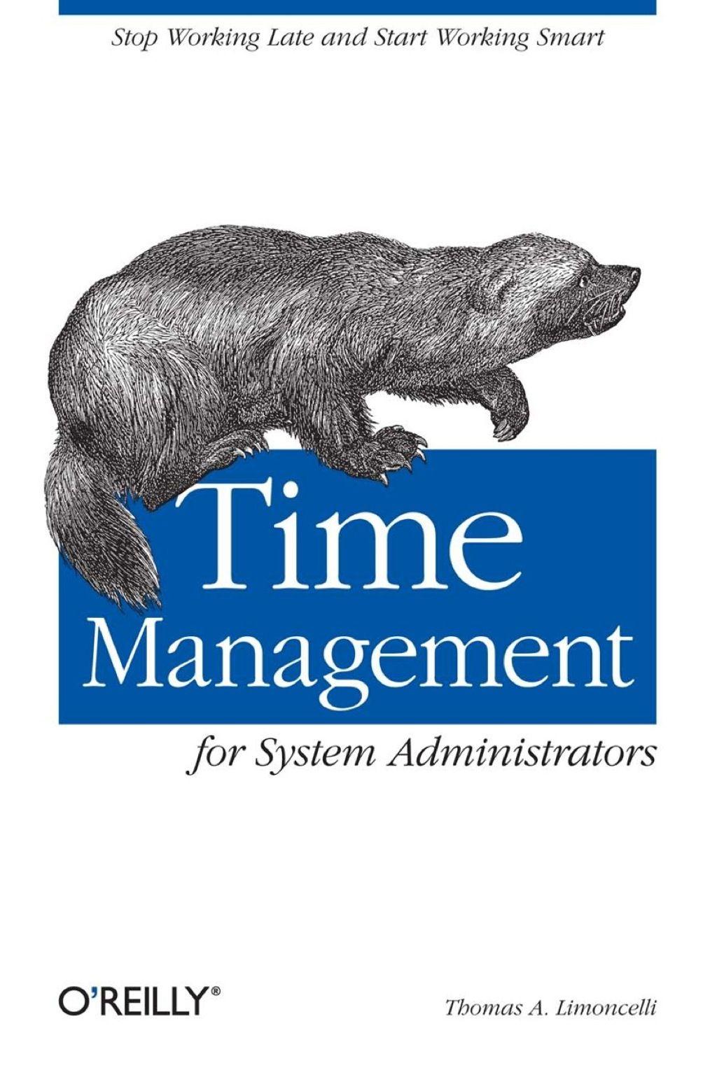 Time Management for System Administrators (eBook Rental