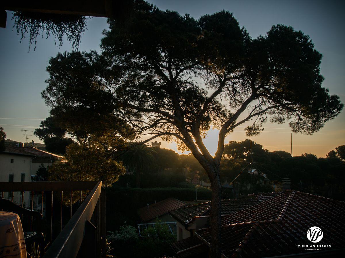View off Hotel Atlantico of Ligurian Sea in Castiglioncello  #italy #castiglioncello #hotelatlantico #tuscany #balcony #sunset #liguriansea