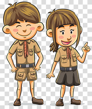 Scouting Girl Scouts Of The Usa Child Boy Scouts Of America Child Transparent Background Png Clipart Girl Cartoon Boy Illustration Children Illustration