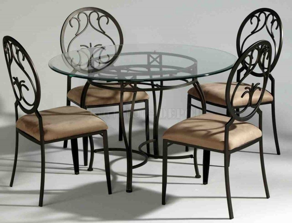 Metal Dining Chairs And Table