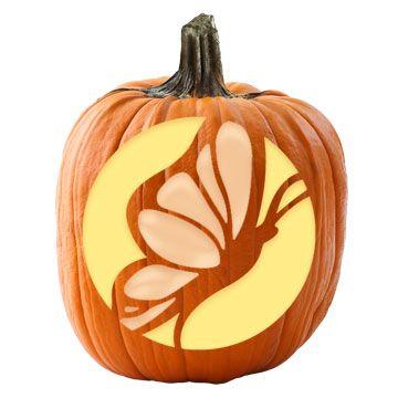 mushroom pumpkin stencil halloween decor halloween pumpkin rh pinterest com
