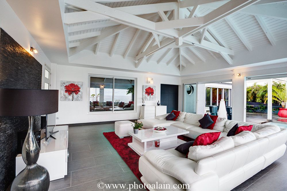 Location Villa De Luxe Vue Mer   Salon