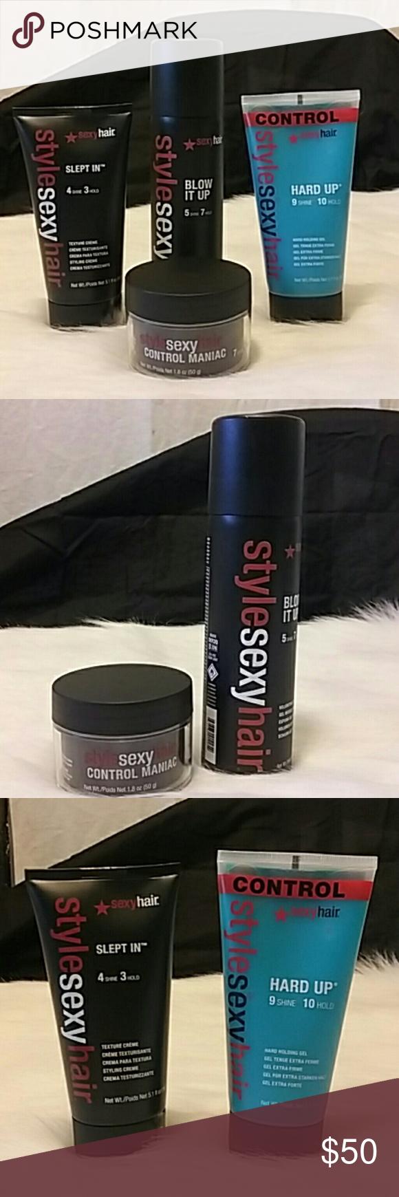 Big sexy hair control maniac