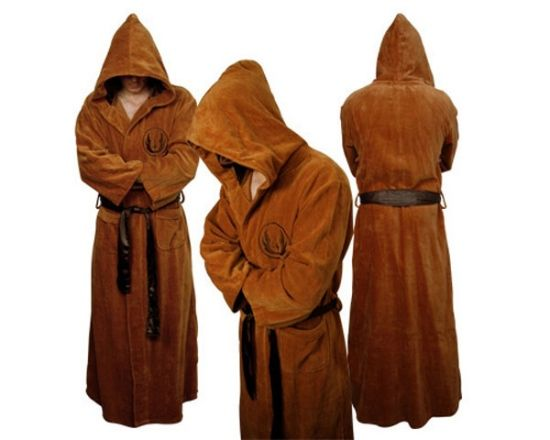 Jedi Bathrobe. On the list of things I would wear all the time, if I had them.