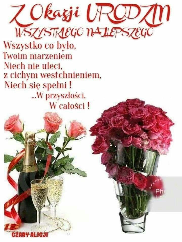 Pin By Justyna On Zyczenia Urodzinowe Birthday Special Day Postcard