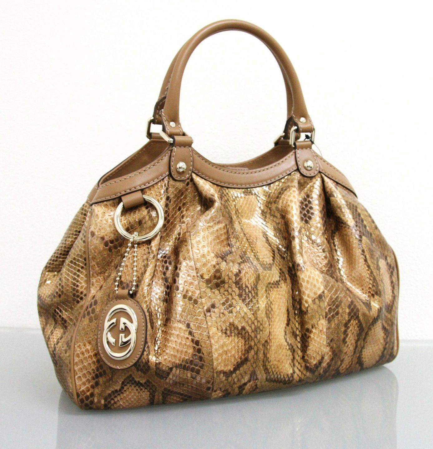 Gucci Gg Sukey Tote Bag Medium - Brown t0FKGHm0J