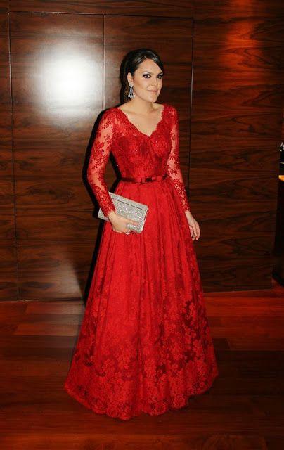 bf027015b 10 vestidos vermelhos para inspirar! | Dress | Vestido de festa ...