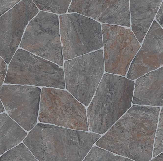Nero 595 Vinyl Flooring Kitchen Stone Wallpaper