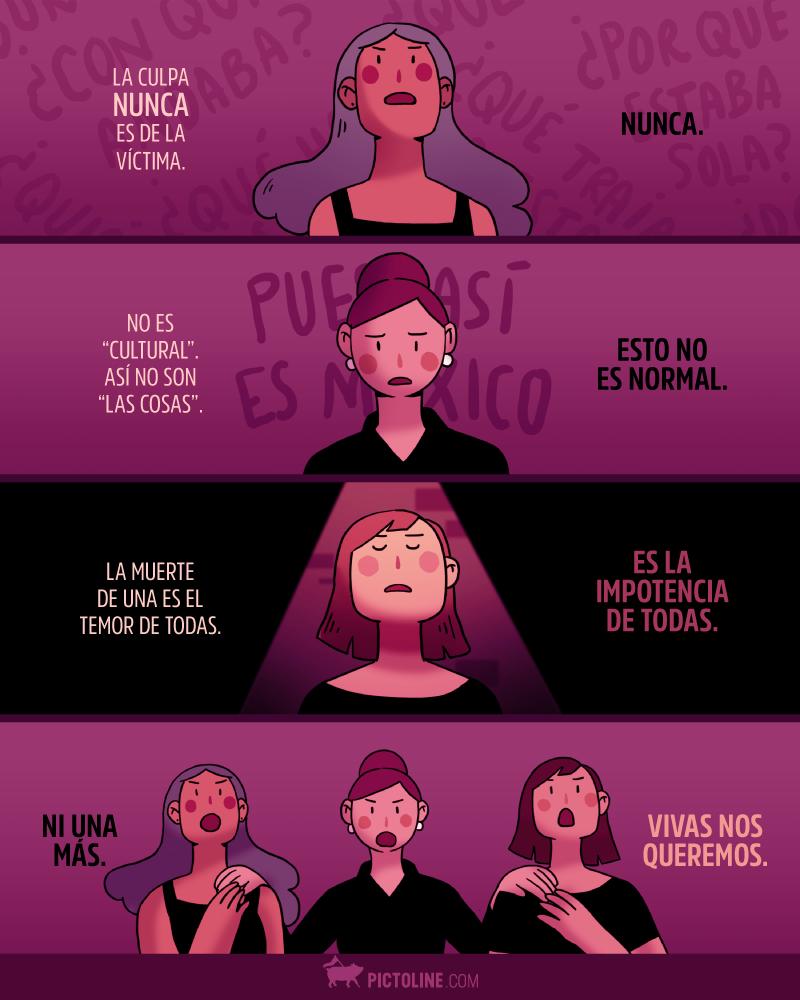 El Feminicidio De Maracastilla Hace Urgente Recordar Una Vez Mas Por Que Seguimos Diciendo Niunamas Feminismo Feminista Arte Feminista
